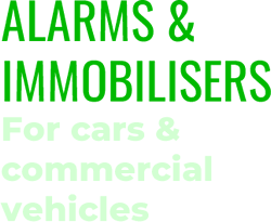 Alarms and immobilisers installer